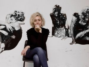 Sculptor Nina Mae Fowler